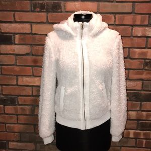 ☁️🍁Sherpa Fleece Texture Fuzzy Hoodie ZIP Up
